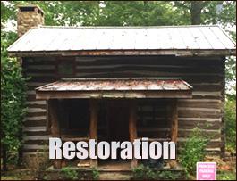Log Cabin Restoration  Pike County, Kentucky